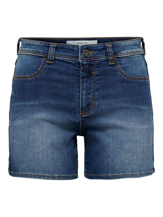 JDYNIKKI TAILLE HAUTE SHORTS EN JEAN, Medium Blue Denim, large