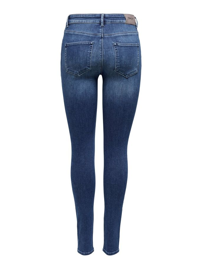 ONLBLUSH LIFE MID JEAN SKINNY, Medium Blue Denim, large