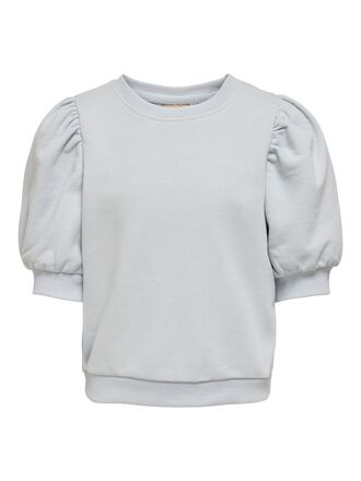 SHORT SLEEVED SWEATSHIRT