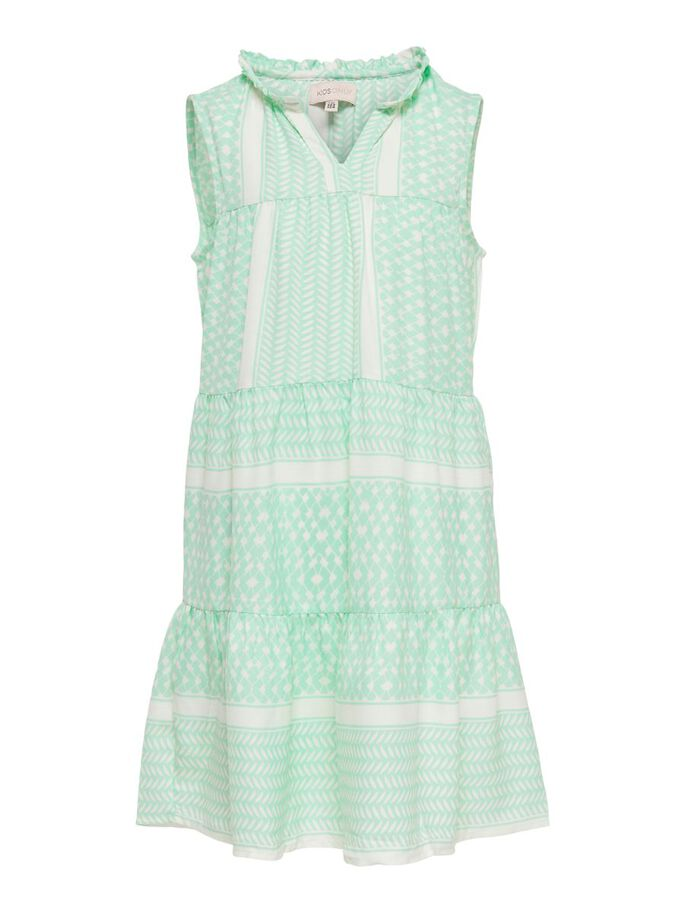 LOOSE FITTED DRESS, Cloud Dancer, large
