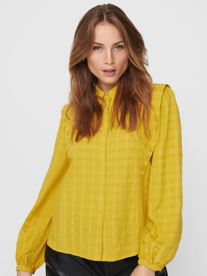 LONG SLEEVED SHIRT, Mango Mojito, large