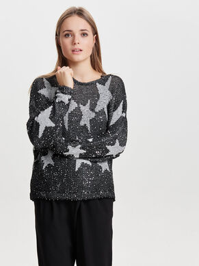 STAR- STRICKPULLOVER