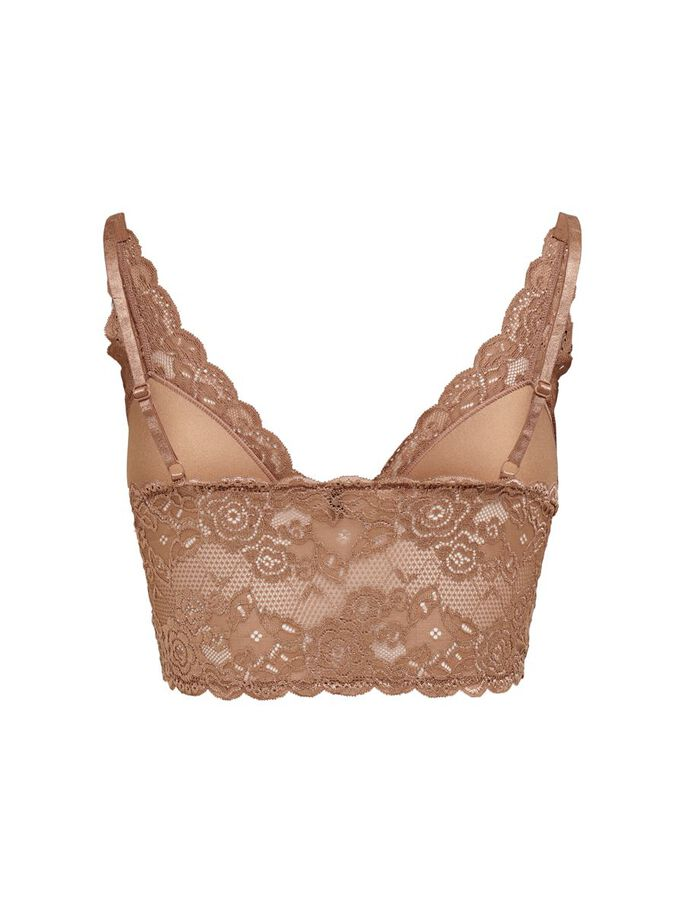 LACE BRA, Mocha Mousse, large