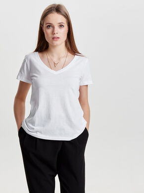 BASIC 2-PACK SHORT SLEEVED TOP