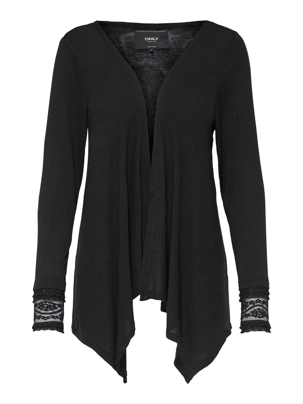 ONLY Long Sleeved Cardigan Women Black