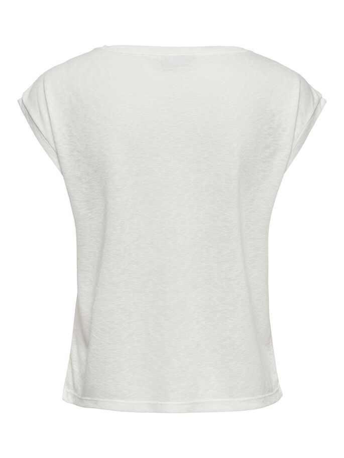 SOLID COLORED TOP, Cloud Dancer, large