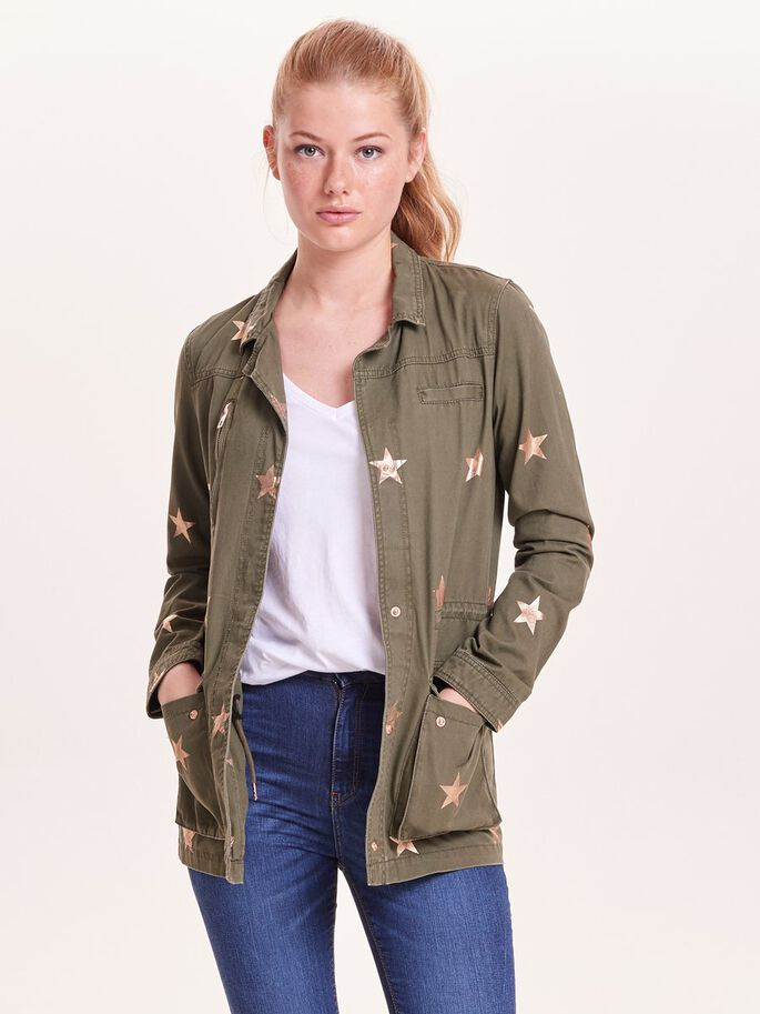 STAR JACKET, Ivy Green, large
