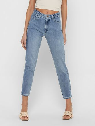 JDYKAJA LIFE HIGH ANKLE STRAIGHT FIT-JEANS