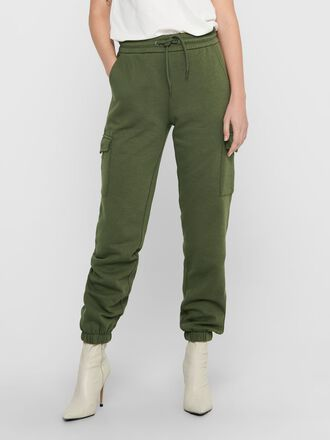SOLID COLORED TROUSERS