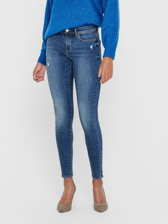 ONLWAUW LIFE MID SKINNY FIT JEANS
