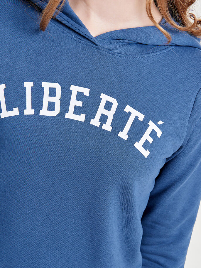 SWEAT- HOODIE, Ensign Blue, large