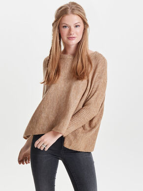 LOOSE KNITTED PULLOVER
