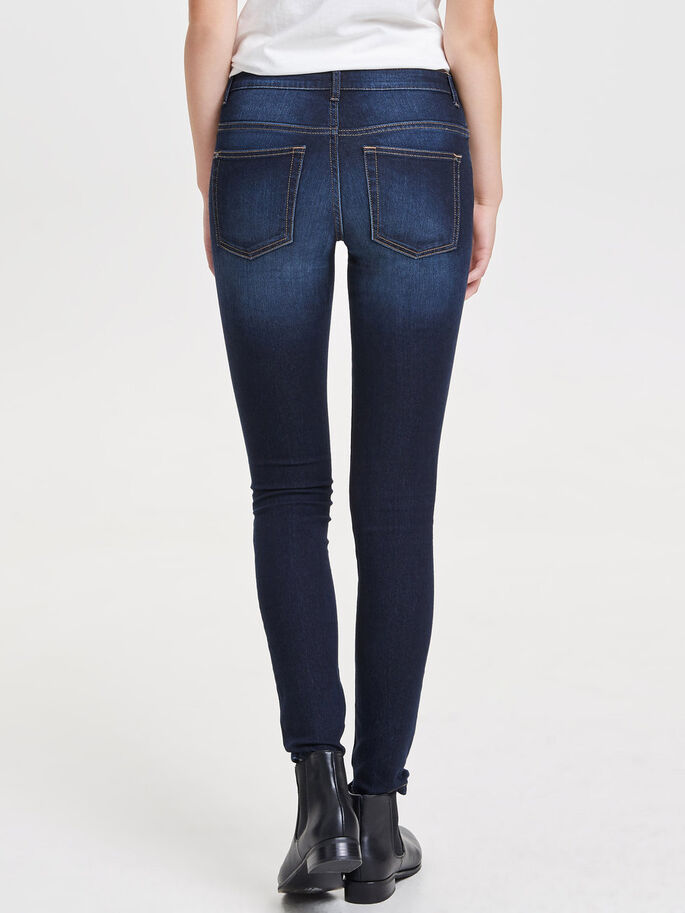 JDY MAGIC LÅGA SKINNY FIT-JEANS, Medium Blue Denim, large