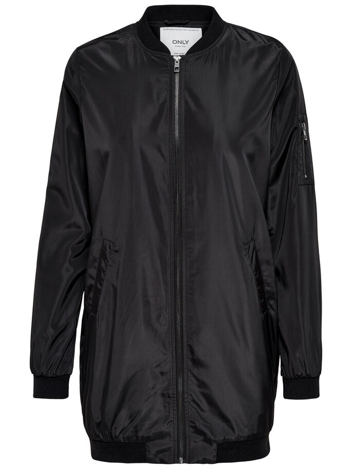 BOMBER FRAKKE, Black, large