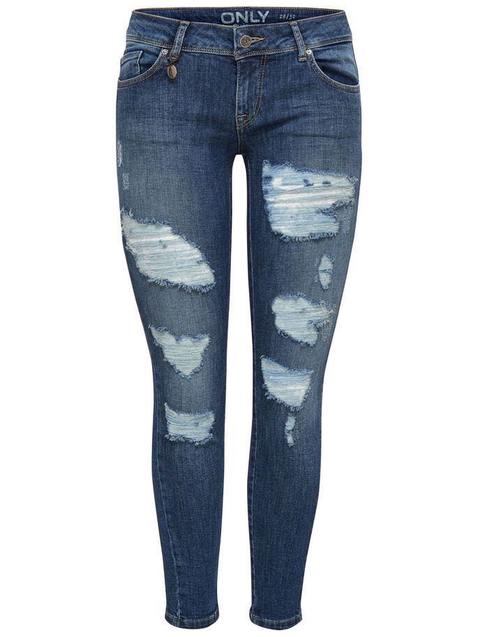 CORAL SL ANKLE SKINNY JEANS, Medium Blue Denim, large