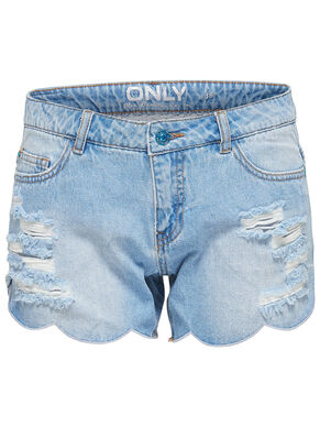 CARMEN REG SHELL EDGE DENIM SHORTS