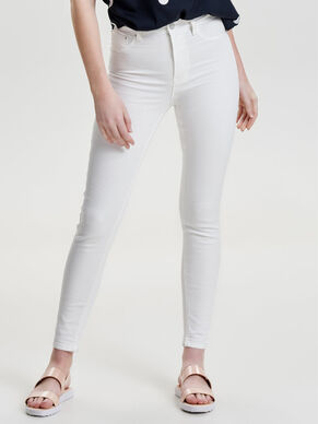 STUDIO HIGH WAIST ANKLE SKINNY FIT JEANS