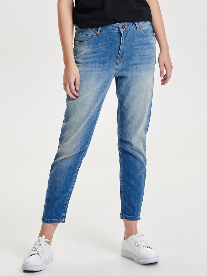 TONNI BOYFRIEND JEANS, Light Blue Denim, large