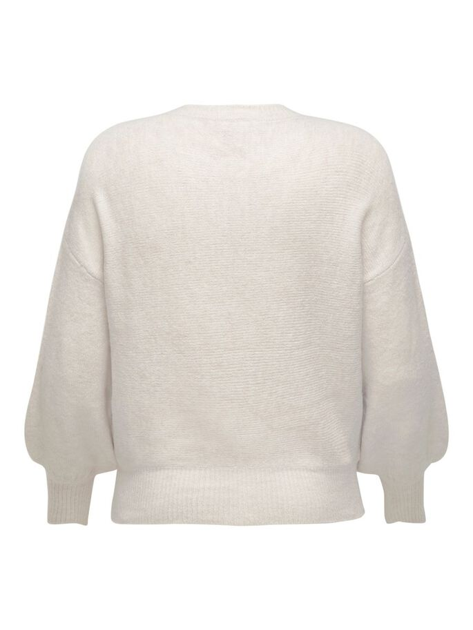 VOLUPTUEUX PULL EN MAILLE, Pumice Stone, large