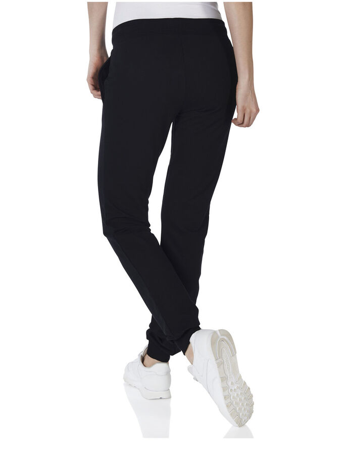 PLAY SWEAT SPORTS PANTS, Black, large