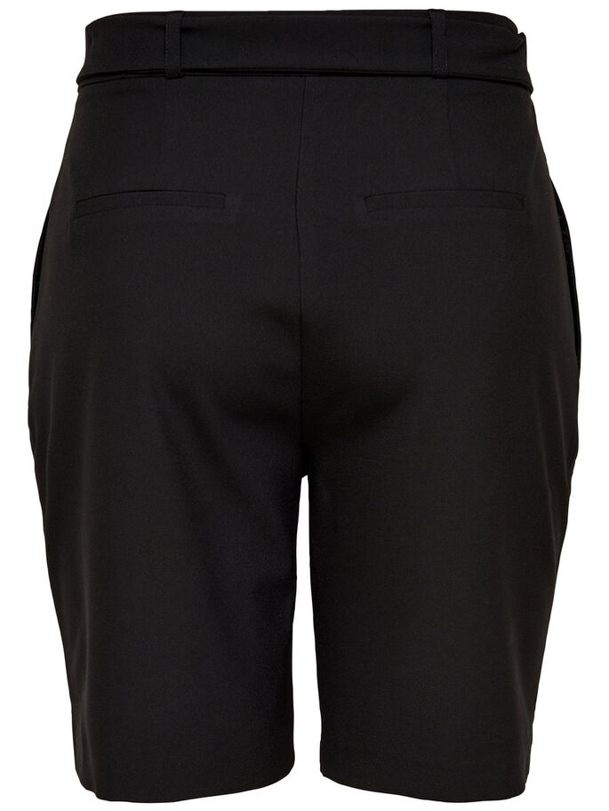 LONG SHORTS, Black, large