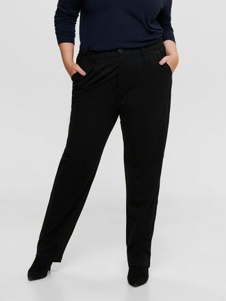 CURVY STRAIGHT FITTED TROUSERS