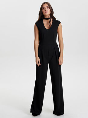 SLEEVELESS JUMPSUIT
