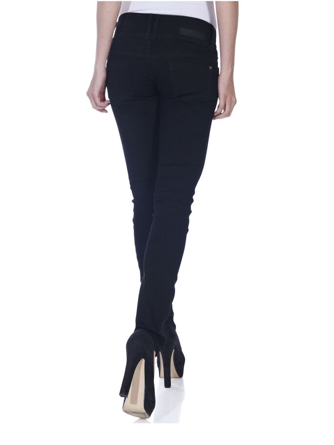 SLIM LOW ANEMONE SLIM FIT JEANS, Black Denim, large