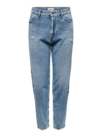 ONLTOBI LIFE MID CARROT STRAIGHT FIT JEANS