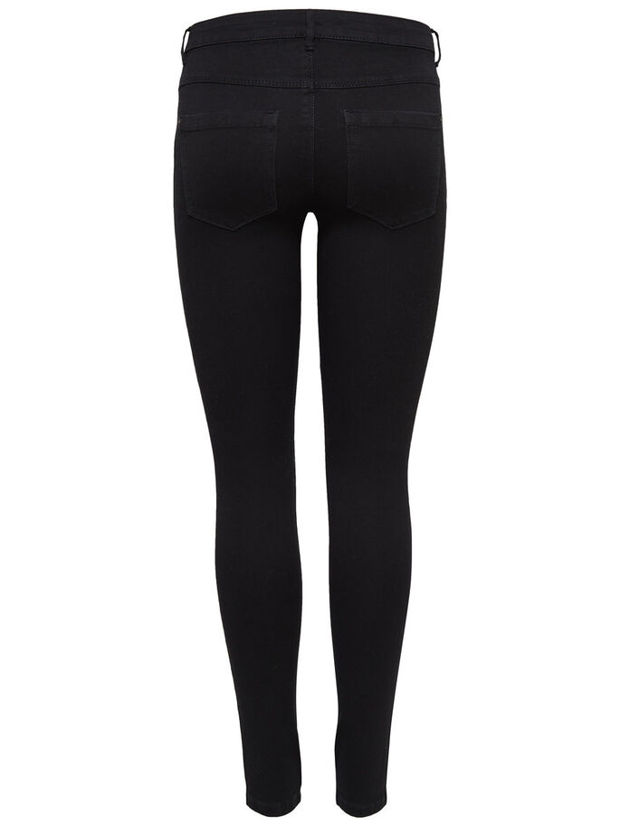 ROYAL REG. SKINNY FIT JEANS, Black, large