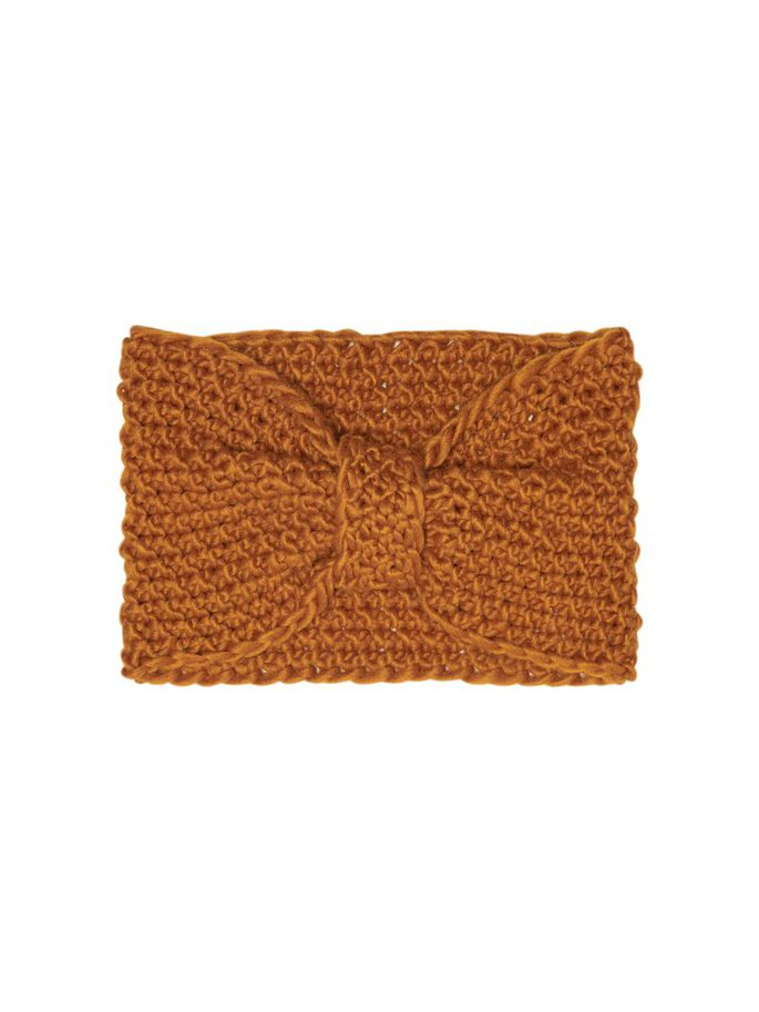 STRICK STIRNBAND, Pumpkin Spice, large