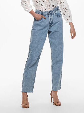 JDYCALANDRA LIFE GIRLFRIEND CROPPED JEANS