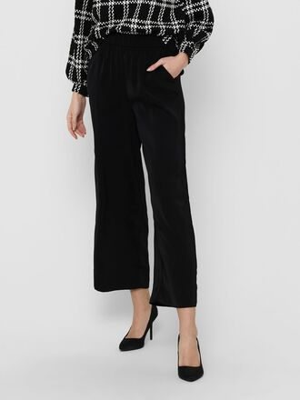 WIDE FIT HIGH WAIST TROUSERS