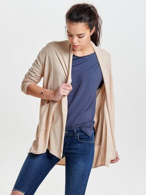 AMPLE CARDIGAN EN MAILLE