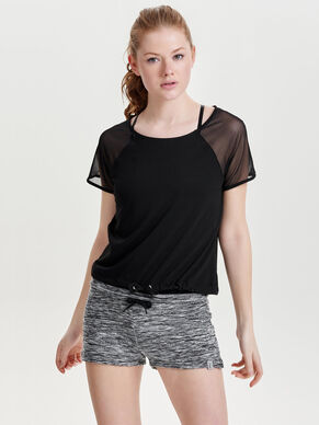 SHORT SLEEVED SPORTS TOP
