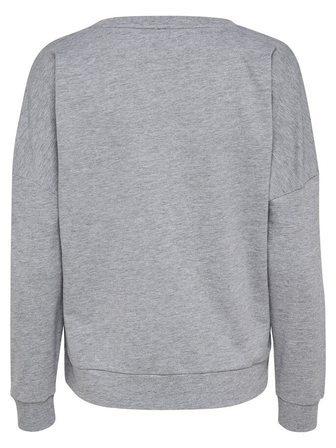CHRISTMAS- SWEATSHIRT, Light Grey Melange, large