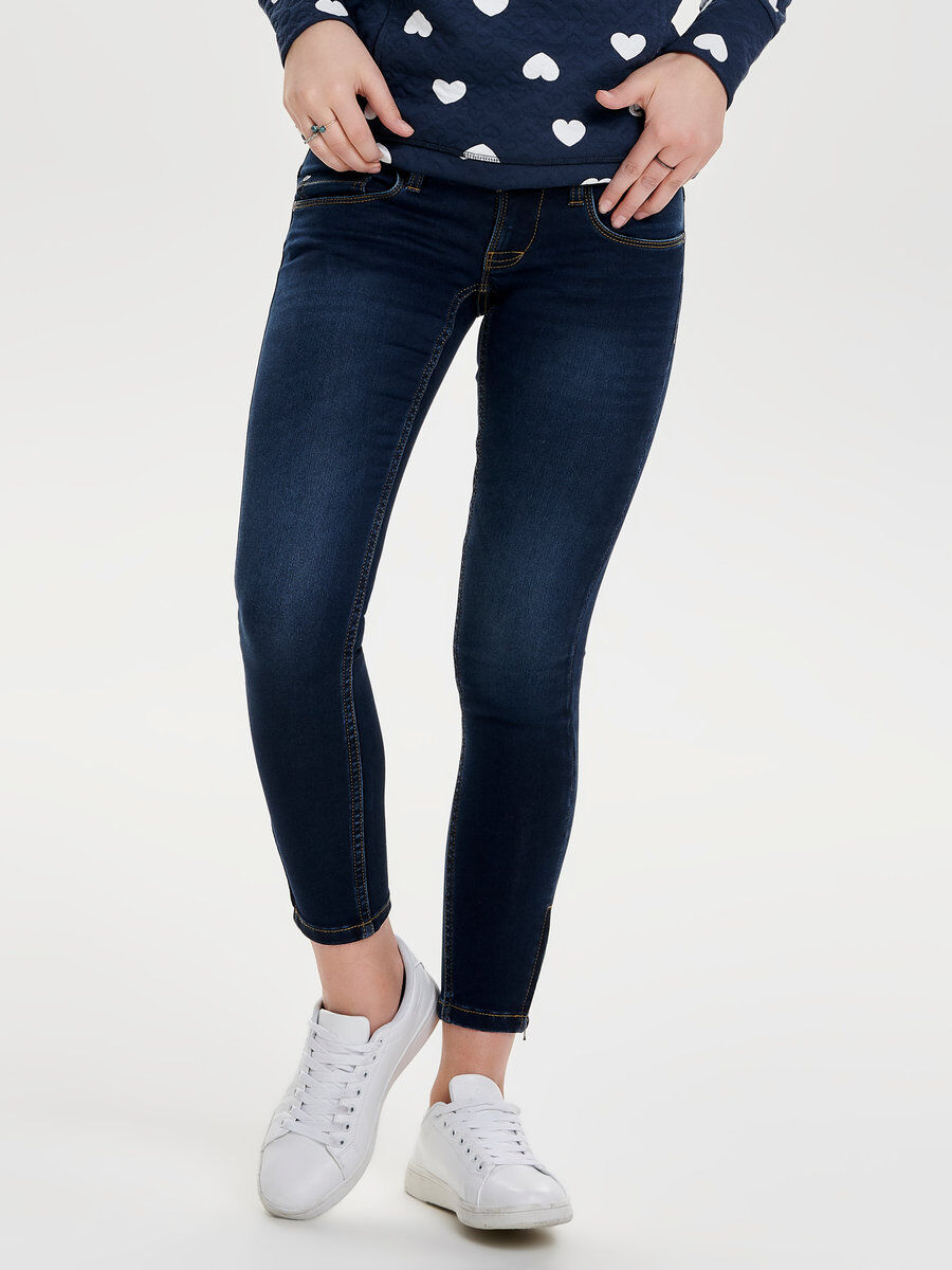 ANEMONE ANKLE ZIP SKINNY FIT JEANS