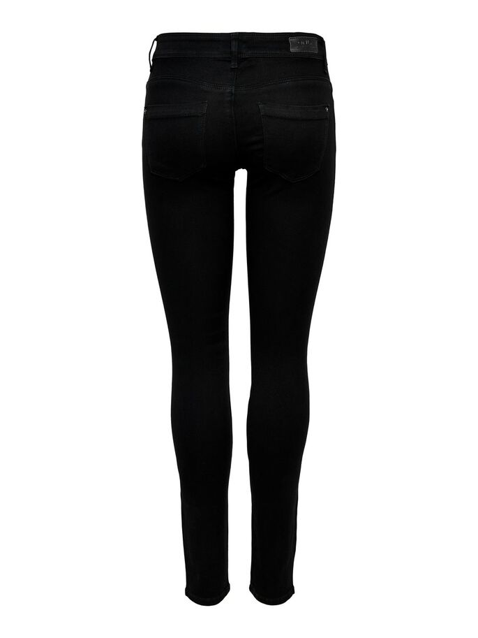 SKINNY REG. SOFT ULTIMATE JEANS, Black Denim, large