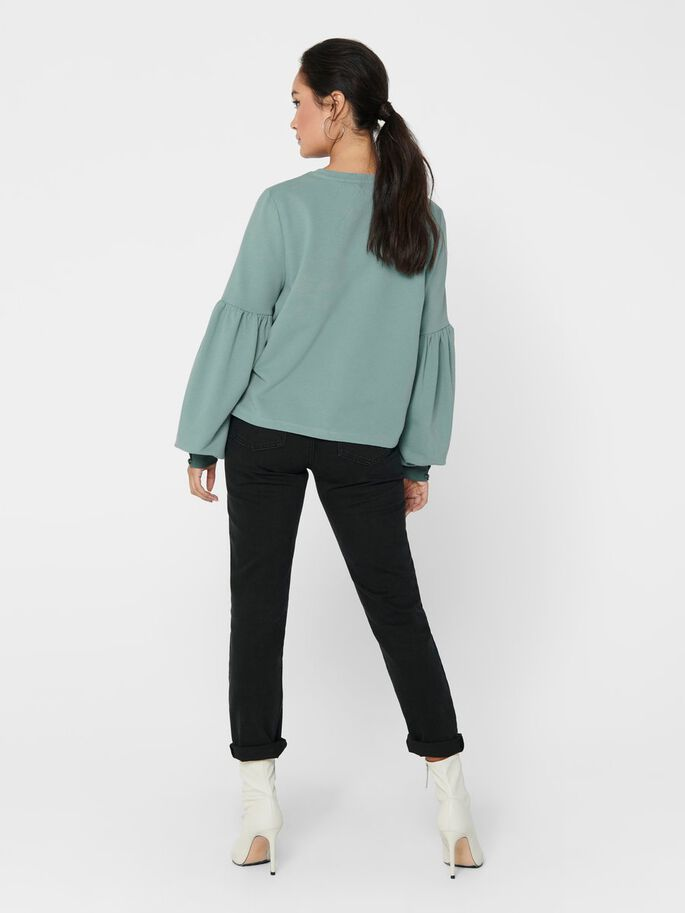 POFMOUW SWEATSHIRT, Chinois Green, large
