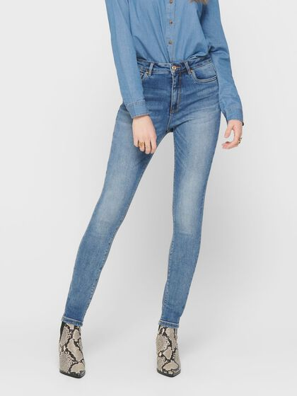 ONLMILA HW ANKLE TALL SKINNY FIT JEANS