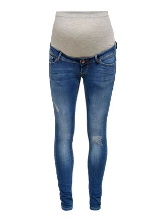 MAMA OLMPAOLA LIFE DESTROYED JEANS SKINNY FIT