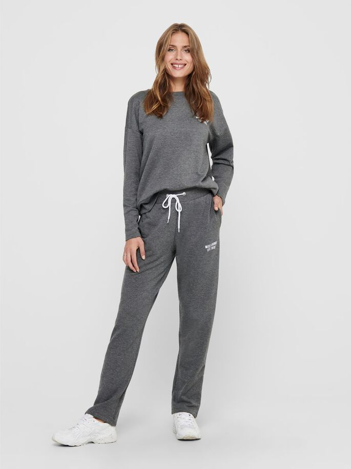LOUNGEWEAR NIGHTWEAR, Dark Grey Melange, large