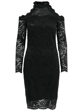 LACE LONG SLEEVED DRESS