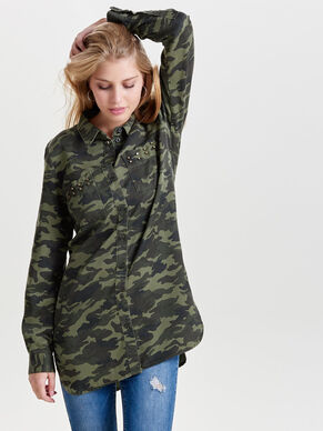 CAMOUFLAGE LONG SLEEVED SHIRT