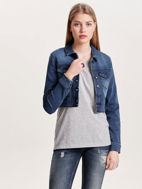 CROPPED JOGG DENIM JACKET