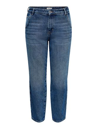 ONLTROY LIFE HW CARROT STRAIGHT FIT JEANS