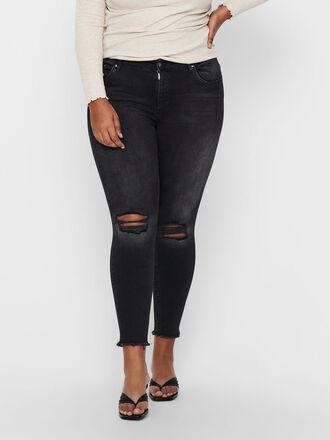 CARWILLY REG ANKLE DESTROYED JEANS CROPPED