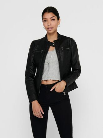 ZIP PU-JACKET