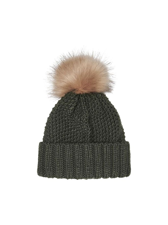 POM POM HAT, Rosin, large